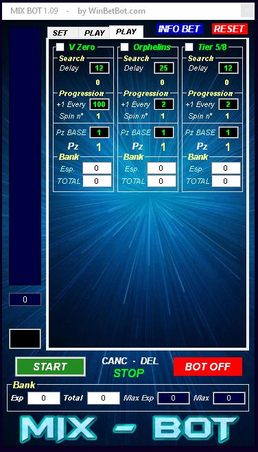 funzioni bot roulette