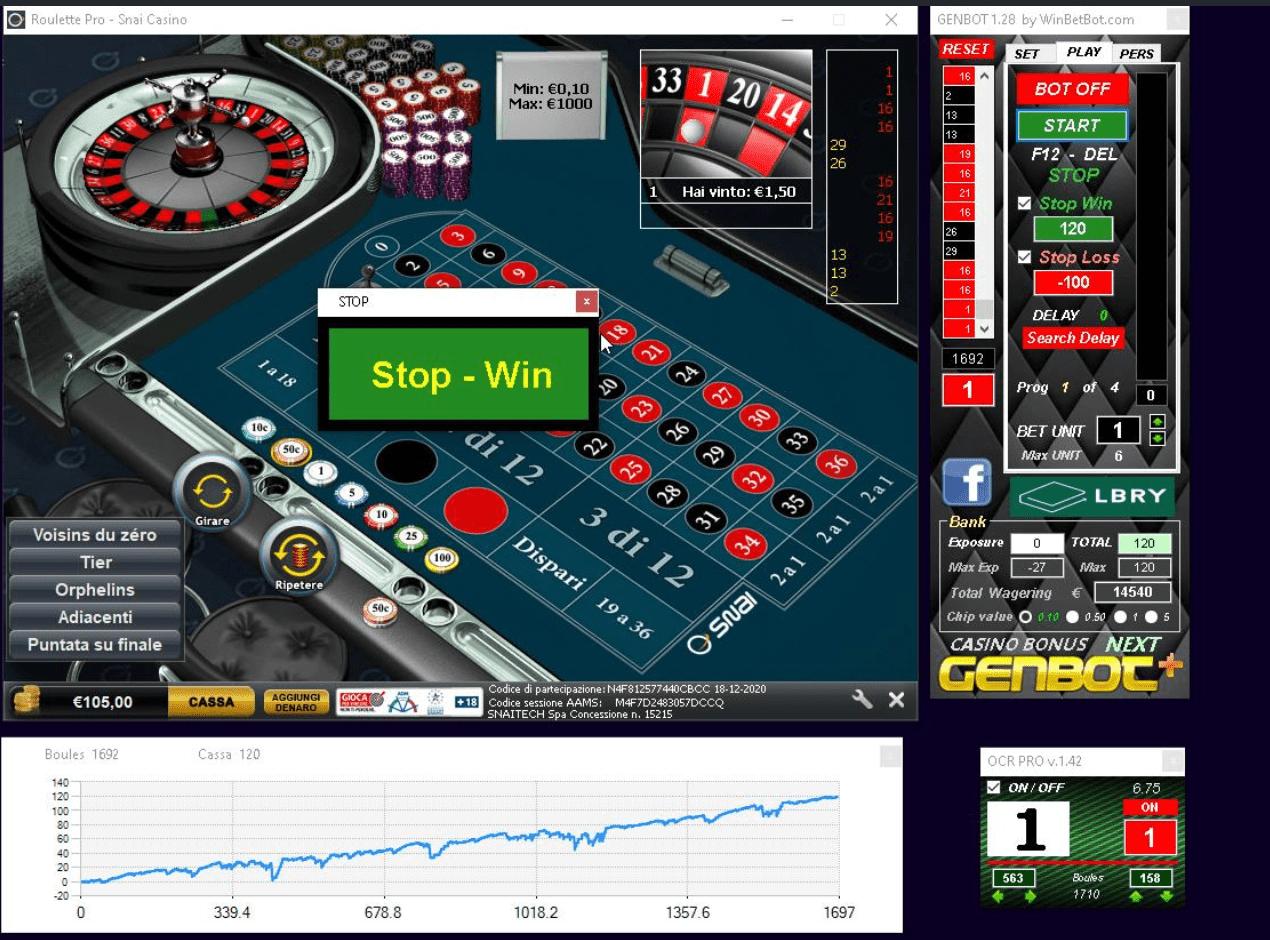 strategie vinceti alla roulette online con dimostrazione